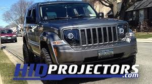 jeep commander black headlights 08 12 jeep liberty kk headlights hidprojectors