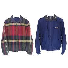 vintage 90s nautica reversible sailing jacket men s xl tommy