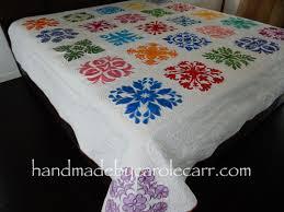 hawaiian quilt u2013 handmade by carole carr