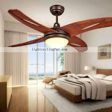 living room ceiling fan 42inch living room decorative led wooden ceiling fan light