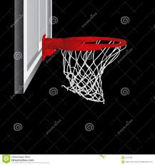 basketball hoop vector royalty free stock photos image 5431408