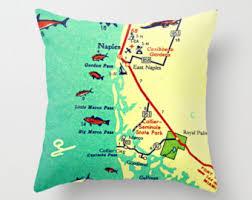 Marcos Island Florida Map Marco Island Etsy