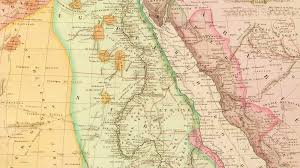 The Middle East Map by Antique Map Of Northeast Africa And The Middle East Showing Egypt