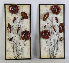 chocolate cosmos a modern looking home and office metal wall