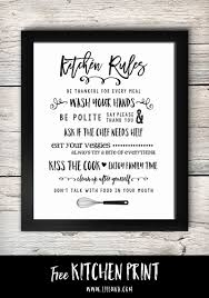 free printable kitchen signs kitchen signs kitchen rules and