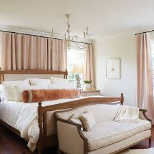 Blush Pink Curtains Blush Pink Bedroom Drapes Design Ideas