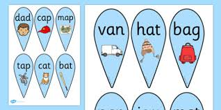 cvc words flashcards and visual aids primary resources page 3