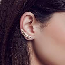 ear cuff amaranth ear cuff carbon hyde