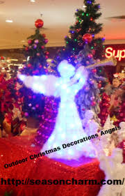Outdoor Christmas Decorations Angels by