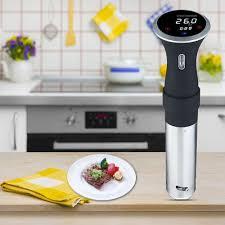 cuisine cuiseur cuiseur de précision sous vide écran tactile basse température