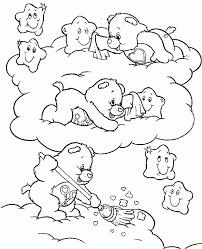 care bear sheets coloring