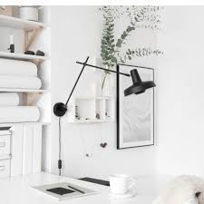 wall lamp arigato white grupa products nordic decoration home