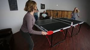 rec tek ping pong table rec tek fold n store table tennis table youtube