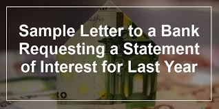 Request Letter Asking For Certification collection of solutions bank statement request letter format in