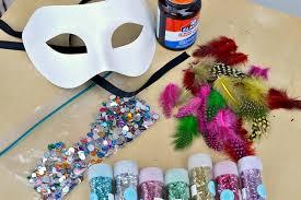 diy mardi gras masks a diy craft for mardi gras masquerade masks