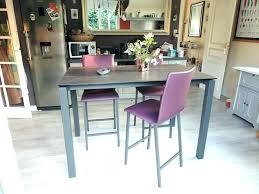 table de cuisine avec tabouret table haute de cuisine et tabouret table cuisine stunning chaise