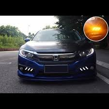 What Are Drl Lights Mustang Style Led 2way Daytime Running Light Fog Drl For Honda