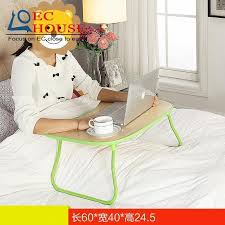 small table to eat in bed bsdt simple notebook comter folding dormitory bed lazy artifact