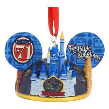 anniversary ornament your wdw store disney ear hat ornament magic kingdom 45th