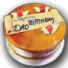 happy birthday day dad butterscotch cake cakes by cakeatdoor