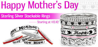 mothers rings stackable s day gift ideas stackable rings freshtrends
