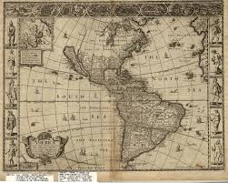 Map North And South America by C003 Cutter World Maps