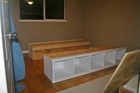 Build A Platform Bed Frame With Drawers by Diy Platform Bed Frame This May Solve All Of My Bedroom Storage