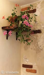 diy tuscan bathroom design part 2 bricks rocks u0026 cracked wood
