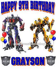 optimus prime birthday transformers optimus prime bumblebee birthday shirt add name age