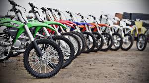 model motocross bikes 2016 dirt bike mega test battle of the bikes youtube