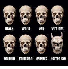 Black Gay Memes - black white gay straight muslim christian atheist horror fan meme