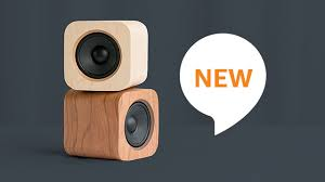 minimalist speakers sugr cube and the alexa voice service merge style and smarts for