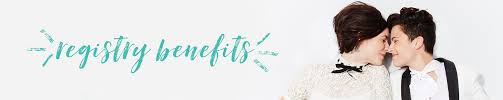 registry bridal wedding registry benefits discounts bridal and wedding