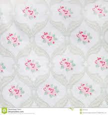 pretty vintage floral wallpaper design stock photo image 39752976