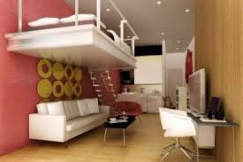 Under Tv Table Bedroom Beautiful Pink White Wood Modern Design Small Apartment