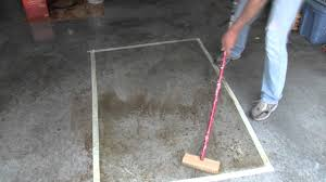 Stain Old Concrete Patio by How To Remove Blood Stains From Concrete Youtube