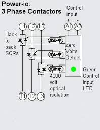 three phase motor contactor wiring efcaviation com