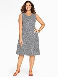 plus size eyelet fit and flare dress plus size pinterest