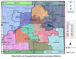 Michigan Counties Map Kent County Redistricting Plan Violates Long Standing Principles