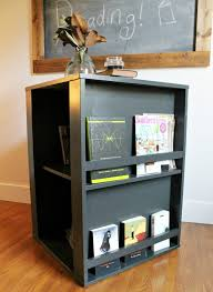 diy four sided kid u0027s bookshelf
