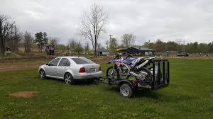 motocross bike trailer pulling bike with wrx moto related motocross forums message