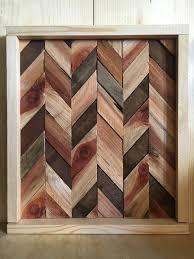 reclaimed wood chevron lath wood wall wood