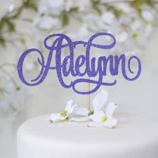 name cake topper personalized name cake topper sugar crush co
