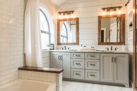 Modern Farmhouse Bathroom Modern Farmhouse Bathroom Before After Irwin Construction