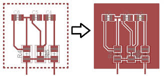 eagle pcb design dashed lines on layers electrical