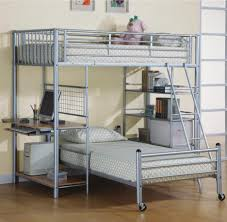 Kids Twin Bed With Storage Bunk Beds Girls Loft Bed With Desk Bookshelf For Kids Loft Beds