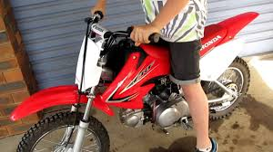 honda crf70f 2011 start up youtube