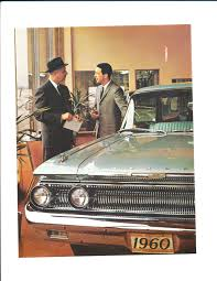 car buying guide new car buyers u0027 guide u2013 1960 edition mercury automobile history