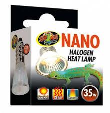 zoo med 35 watt nano halogen heat lamp for sale