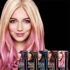 purple rinse hair dye for dark hair relaxer garnier color styler pink pop intense wash out color 50 ml